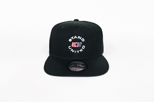 eUnited Stand United Logo Adjustable Snap Back Hat Black