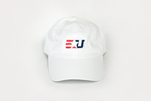 Load image into Gallery viewer, eUnited EU Logo Adjustable Dad Hat White