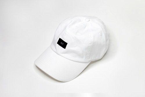 ULT Patch Logo Adjustable Dad Hat White
