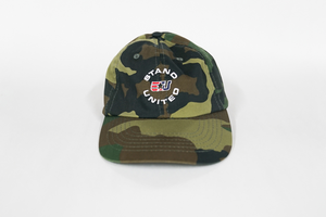 eUnited Stand United Logo Adjustable Dad Hat Camo