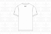Load image into Gallery viewer, Buddies Tee white back