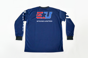 EUNITED PRO ULT ELITE GOW NAVY LS JERSEY back