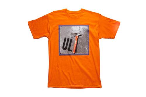 ULT Axe S/S Tee orange