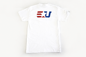 eUnited Stand Bold Tee white back