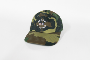 eUnited Stand United Logo Adjustable Dad Hat Camo side
