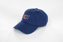Load image into Gallery viewer, eUnited EU Logo Adjustable Dad Hat Navy side