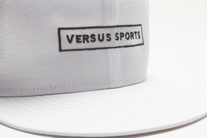 VS White Snapback logo