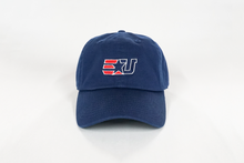 Load image into Gallery viewer, eUnited EU Logo Adjustable Dad Hat Navy