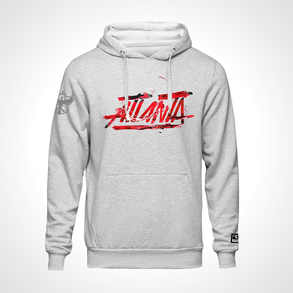 Atlanta Reign ULT Expressionist Pullover Hoodie - Heather Grey