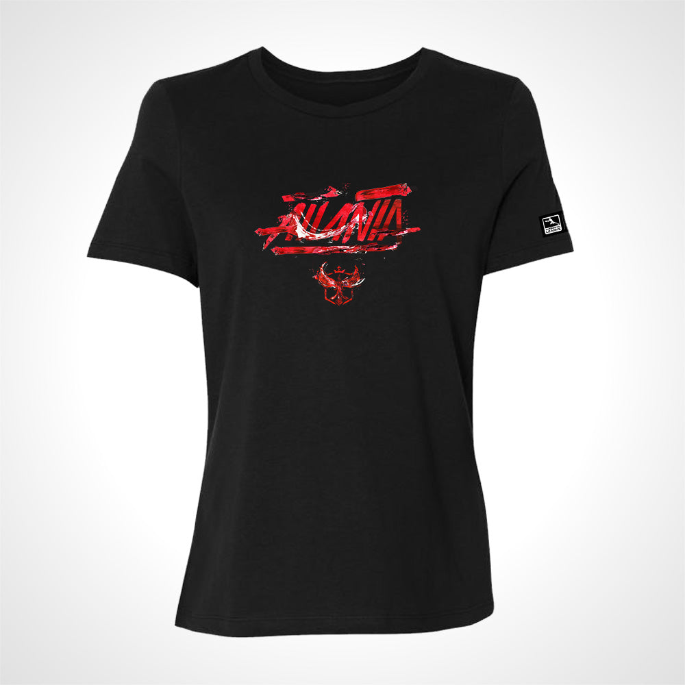 Atlanta Reign ULT Expressionist Women's S/S Tee - Black