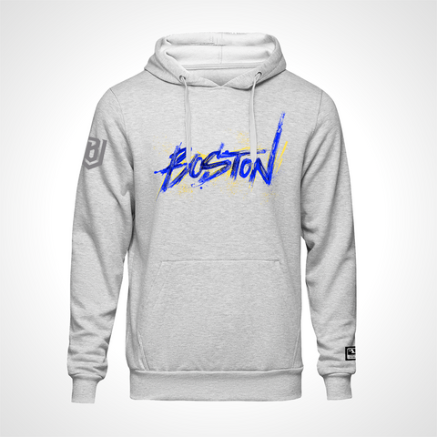 Boston Uprising ULT Expressionist Pullover Hoodie - Heather Grey