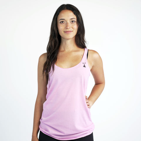 Womens Racer Back Tee | Lilac