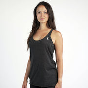 Womens Racer Back Tee | Black