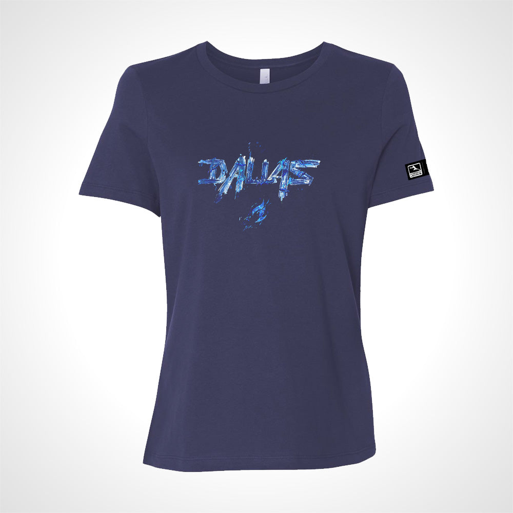 Dallas Fuel ULT Expressionist Women's S/S Tee - Navy