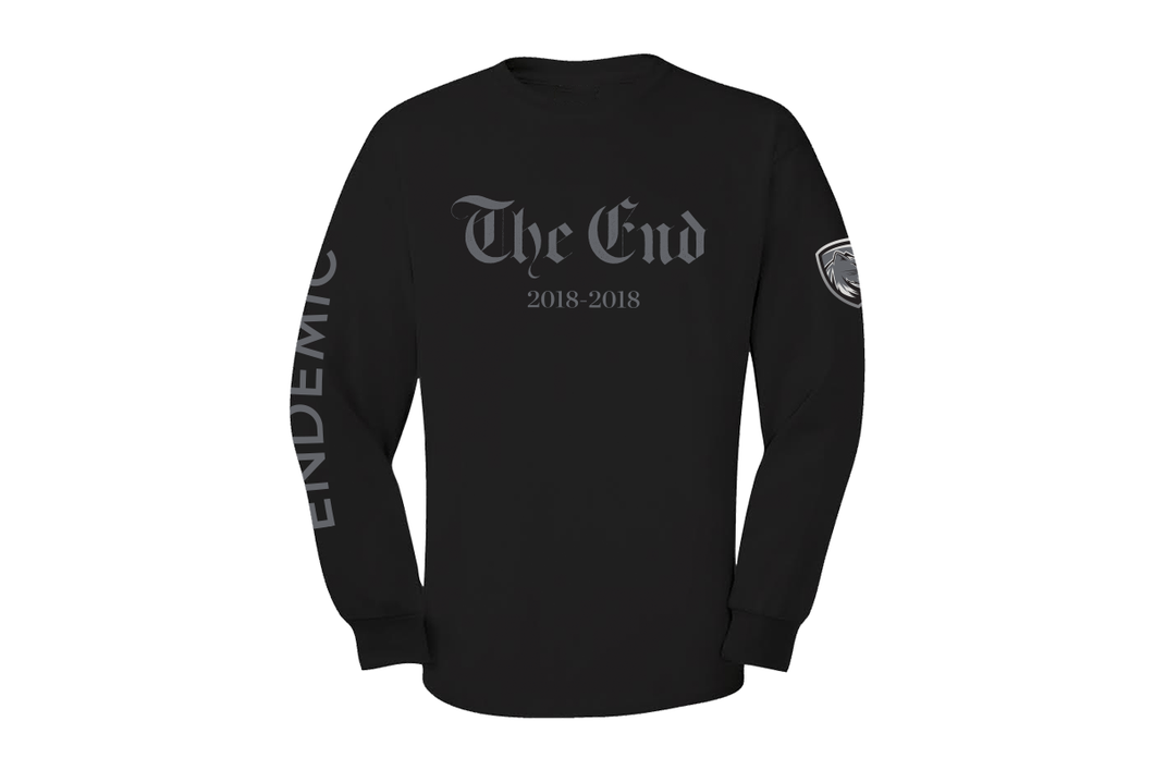 "Endemic ""The End"" Special Release L/S Tee"