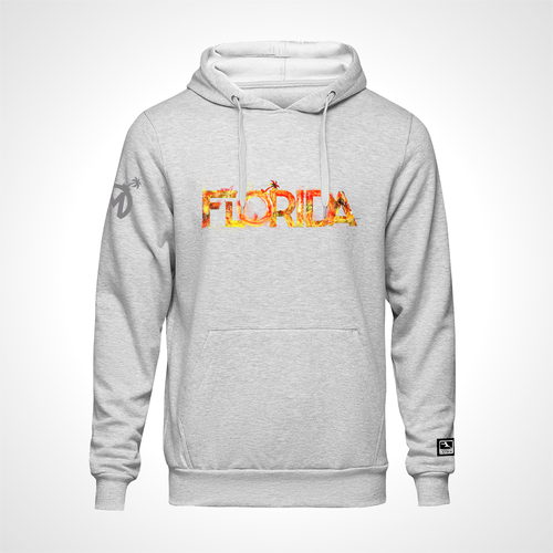 Florida Mayhem ULT Expressionist Pullover Hoodie - Heather Grey