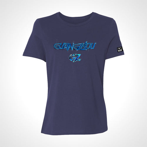 Guangzhou Charge ULT Expressionist Women's S/S Tee - Navy