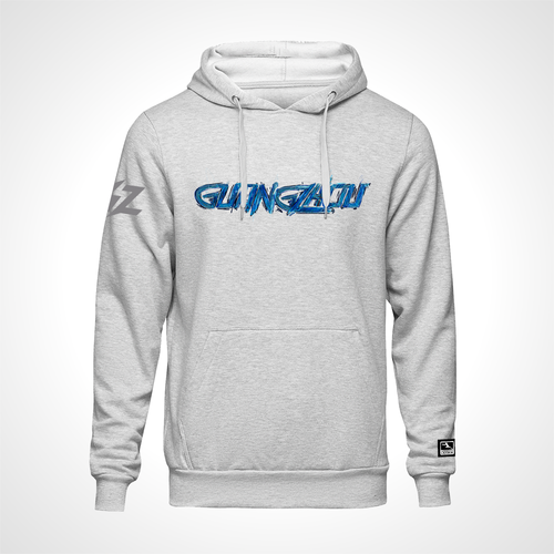 Guangzhou Charge ULT Expressionist Pullover Hoodie - Heather Grey