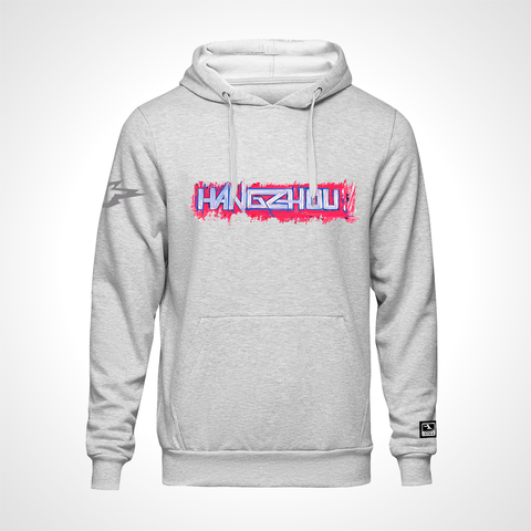 Hangzhou Spark ULT Expressionist Pullover Hoodie - Heather Grey