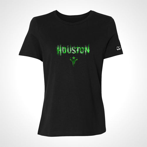 Houston Outlaws ULT Expressionist Women's S/S Tee - Black