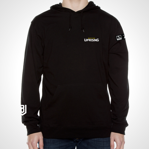 Boston Uprising ULT Long Sleeve Hooded Tee - Black