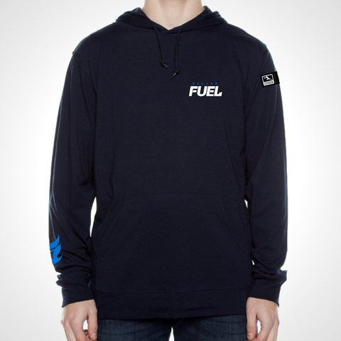 Dallas Fuel ULT Long Sleeve Hooded Tee - Deep Navy