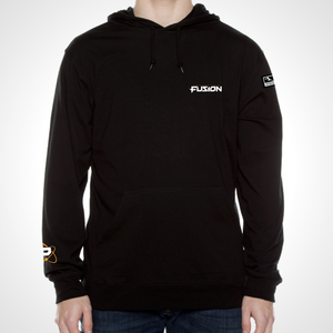 Philadelphia Fusion ULT Long Sleeve Hooded Tee - Black