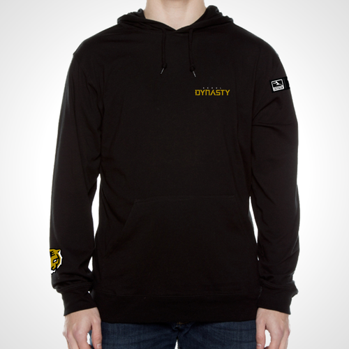 Seoul Dynasty ULT Long Sleeve Hooded Tee - Black