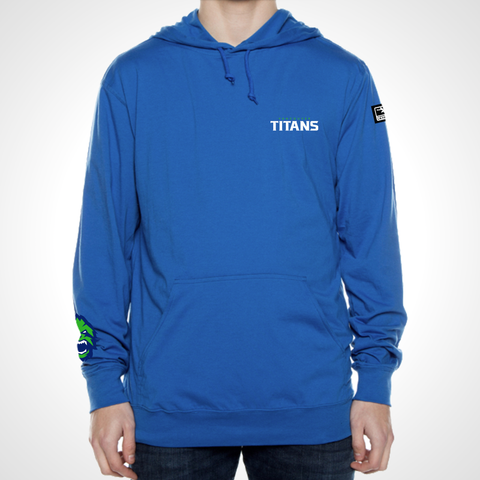 Vancouver Titans ULT Long Sleeve Hooded Tee - Royal Blue