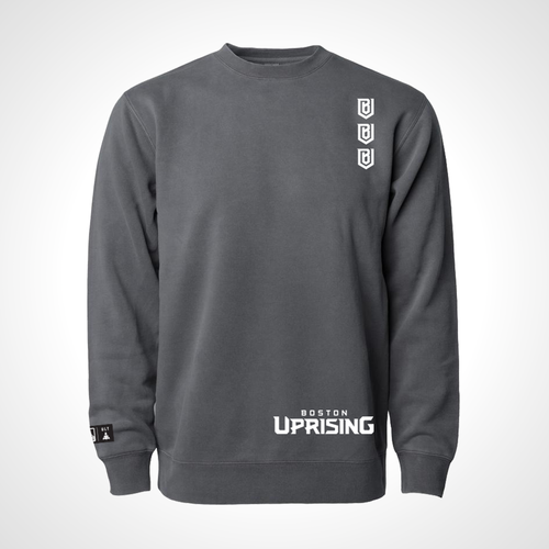 Boston Uprising ULT Crew Neck Fleece - Black