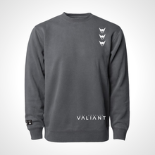 Load image into Gallery viewer, Los Angeles Valiant ULT Crew Neck Fleece - Black