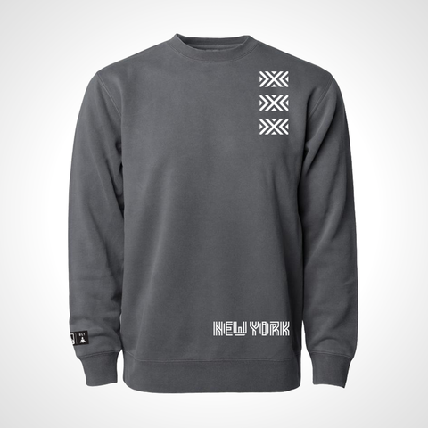 New York Excelsior ULT Crew Neck Fleece - Black