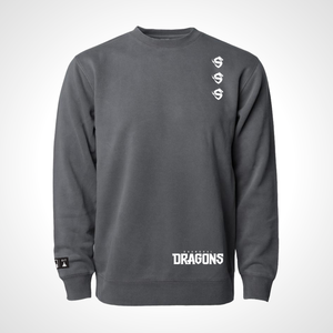 Shanghai Dragons ULT Crew Neck Fleece - Black