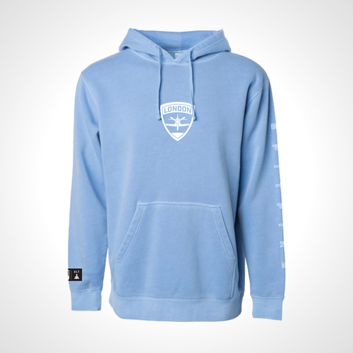 London Spitfire ULT Hooded Fleece - Lt. Blue