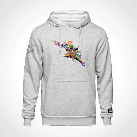 Overwatch League Expressionist ULT Expressionist Pullover Hoodie - Heather Grey