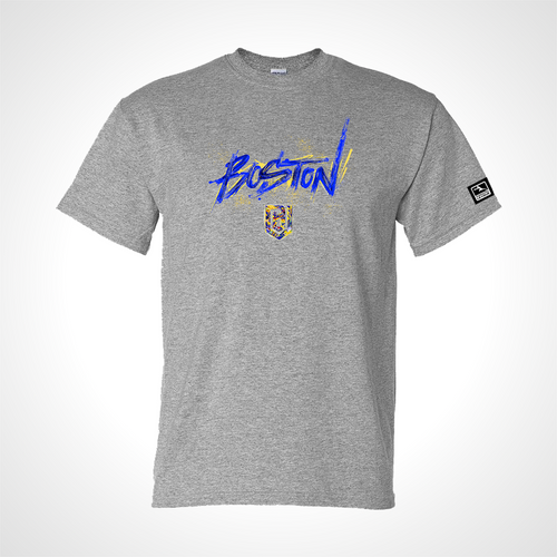 Boston Uprising ULT Expressionist Men's S/S Tee - Heather Grey