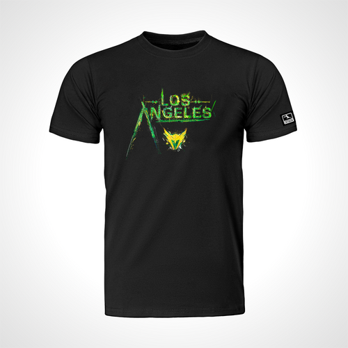 Los Angeles Valiant ULT Expressionist Men's S/S Tee - Black