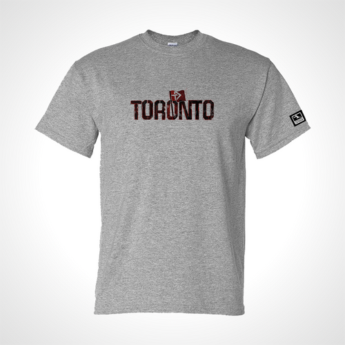 Toronto Defiant ULT Expressionist Men's S/S Tee - Heather Grey
