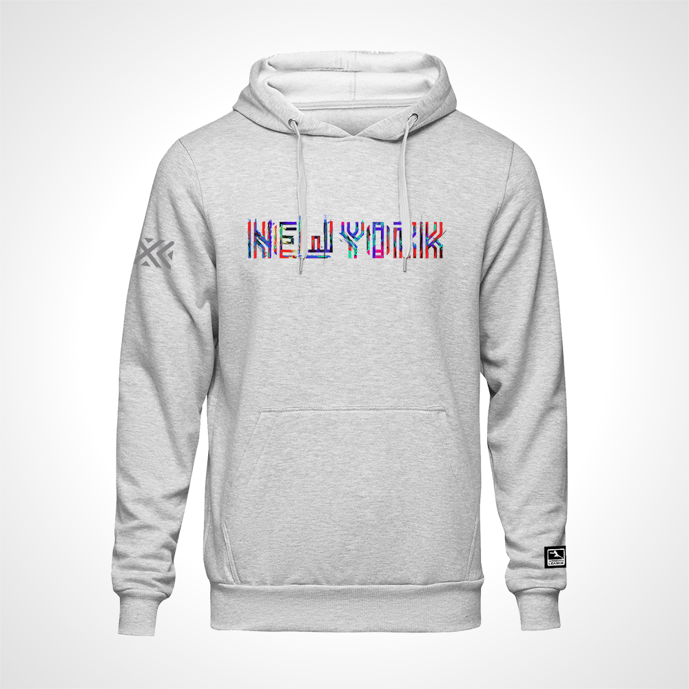 New York Excelsior ULT Expressionist Pullover Hoodie - Heather Grey