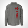 Atlanta Reign ULT Nylon Coaches Jacket - Grey