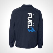 Load image into Gallery viewer, Dallas Fuel ULT Nylon Coaches Jacket - Deep Navy