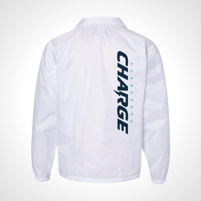 Load image into Gallery viewer, Guangzhou Charge ULT Nylon Coaches Jacket - White
