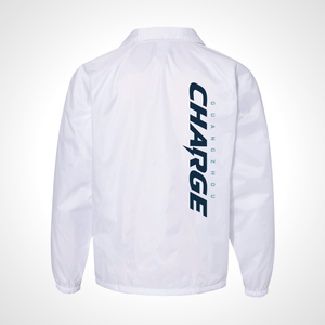 Guangzhou Charge ULT Nylon Coaches Jacket - White