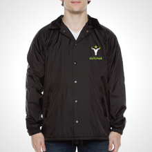Load image into Gallery viewer, Houston Outlaws ULT Nylon Coaches Jacket - Black