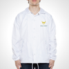 Throwback - Los Angeles Valiant ULT Nylon Coaches Jacket - White