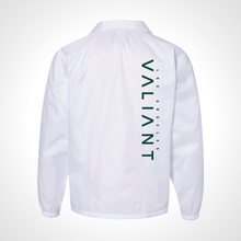 Load image into Gallery viewer, Los Angeles Valiant ULT Nylon Coaches Jacket - White