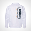 London Spitfire ULT Nylon Coaches Jacket - White