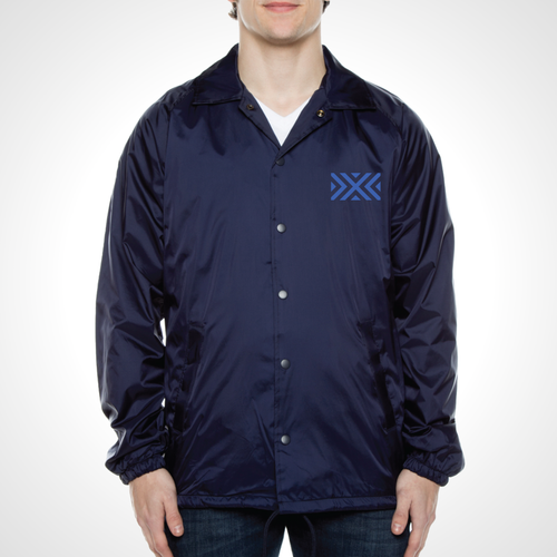 New York Excelsior ULT Nylon Coaches Jacket - Deep Navy