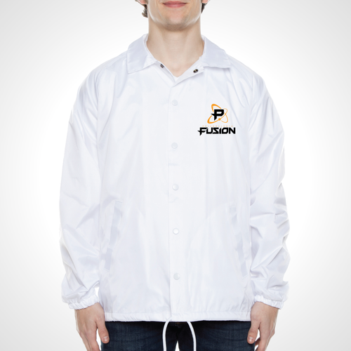 Philadelphia Fusion ULT Nylon Coaches Jacket - White