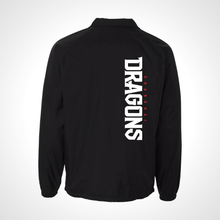 Load image into Gallery viewer, Shanghai Dragons ULT Nylon Coaches Jacket - Black